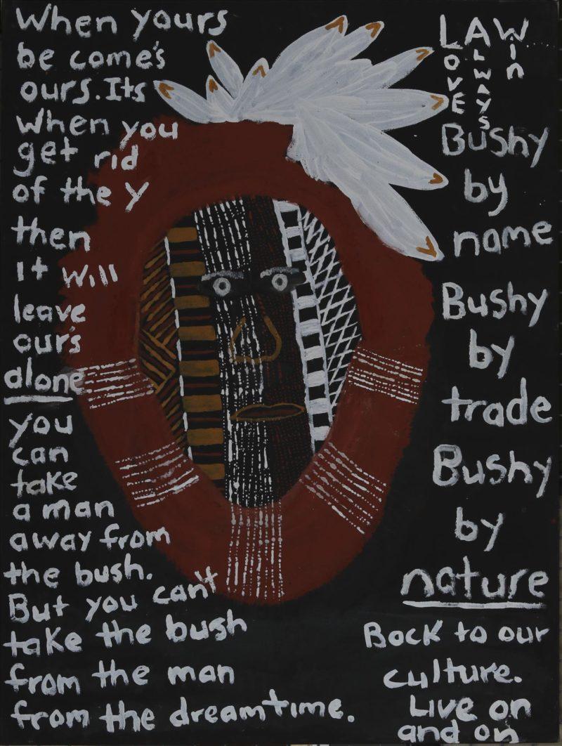 Bushy by Nature - Painting - Johnathon Bush